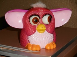 McDonalds Mini Furby 1998 Happy Meal Toy Collectible Pink Body Pink Hair... - $4.99