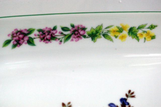 """Royal Worcester 2007 Worcester Herbs Sage 11"""" Baker Botanical Line image 3"""