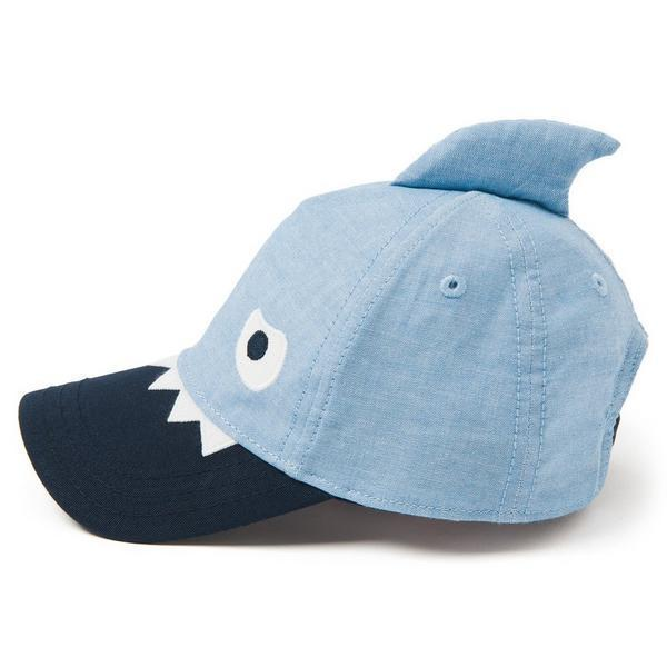 NWT Gymboree Camp Must-Haves Boys Shark Fin Baseball Cap Hat 4T 5T