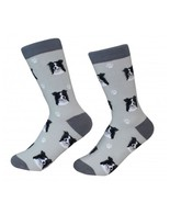 Border Collie Socks Unisex Dog Cotton/Poly One size fits most - $11.99