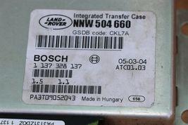 05-09 Range Rover Sport LR3 4x4 4WD TCCM Transfer Case Module NNW-504-660 image 4