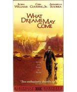 What Dreams May Come VHS Robin Williams Cuba Gooding Jr. Annabella Sciorra - $1.99