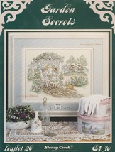 Garden Secrets, Stoney Creek Counted Cross Stitch Pattern Booklet 26 - $3.95