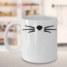 Cat Nose and Whiskers Mug - $16.95