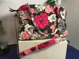 Vera Bradley Floral Handbag with Shoulder Strap - $18.95