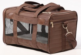 Small Dog Carrier, Small Original Brown Pet Puppy Animal Travel Dog Carr... - $45.53