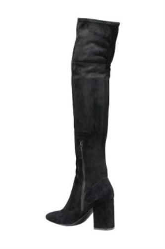 fae56824523 Cole Haan Darla Over the Knee OTK Boots Black Suede Womens Tall Boots Size  6.5