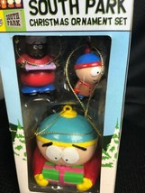 LOT OF 3 South Park Xmas ORNAMENTS Kurt S Adler Stan Chef Cartman - $17.81