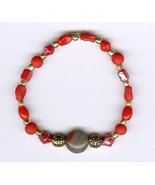 Handmade Handcrafted Beaded Bracelet Jewelry Or... - $3.00