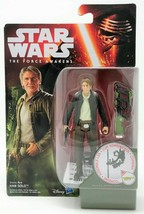 Star Wars Force Awakens Han Solo Forest Mission 9.5cm Jouet Figurine D'A... - $14.54