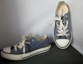 CONVERSE - Kid's Medium Blue All Star Canvas Shoes SIZE - 12.5 - $18.95