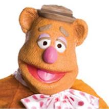Latex Mask of FOZZIE THE BEAR - $55.00