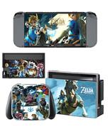 Nintendo Switch Console Joy-Con Skin Zelda Brea... - $9.50