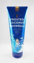 (1) Bath & Body Works Frosted Coconut Snowball 24hr Ultra Shea Body Crea... - $8.55