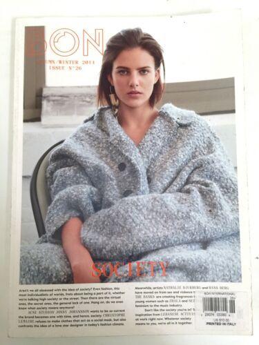 Bon International Magazine Fashion Italy Autumn Winter 2014 Issue No. 26