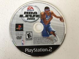 NBA Live 2005 - Playstation 2 PS2 - Cleaned & Tested - $4.85
