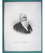 JAMES LANGDON Vermont Granite Merchant & Financier - 1895 Portrait Antiq... - $15.12