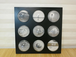 Target Home Acrylic Collection 9 Bubble Picture Frame for 2 5/16 in x 2 ... - $11.29