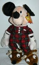 "Disney Mickey Mouse Pajama Stuffed Plush 17"" - $16.34"