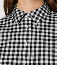 Amazon Brand - Meraki Women's Long Sleeve Linen Shirt - Size 3XL - BLACK -SEALED