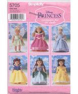 Simplicity Crafts 5705 Disney Princess Costume Patterns for  - $6.64