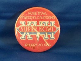 Super Bowl XVII Commerative Pin 1983 Redskins Dolphins - $4.00