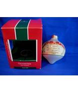 Hallmark Christmas Ornament Grandmother 1989 Glass - $8.99