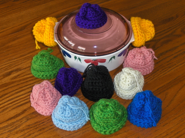Pot Holder Beanie Hats For Lids Crochet