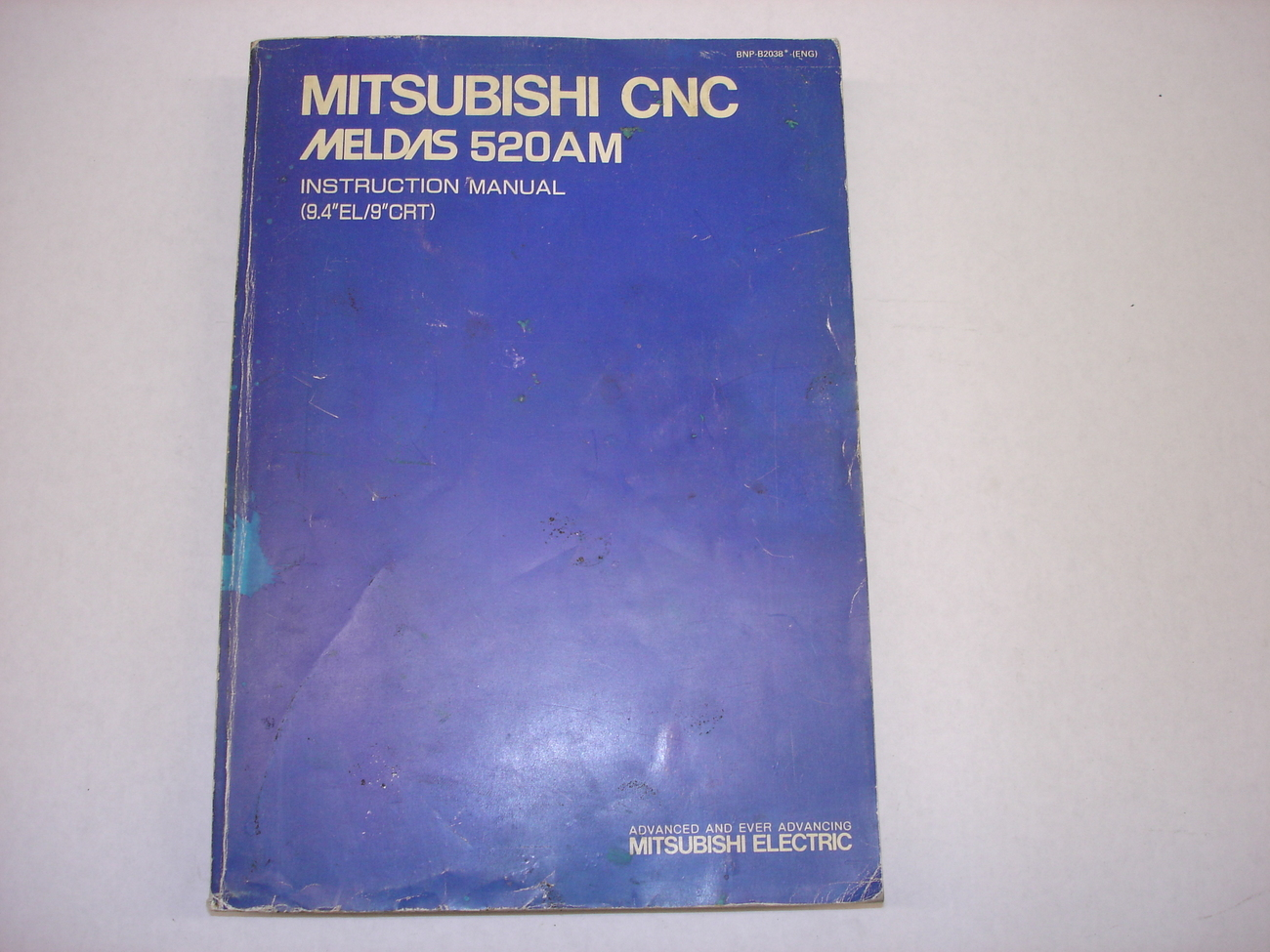 Mitsubishi CNC Meldas 520AM Instruction Manual