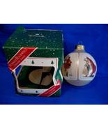 Hallmark Christmas Ornament Norman Rockwell 1987 Glass - $19.99
