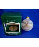 Hallmark Christmas Ornament Grandparents 1987 Glass - $9.99