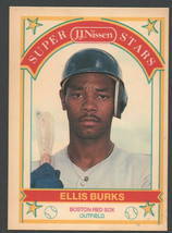 Boston Red Sox Ellis Burks 1989 Nissen Baseball Card #3 nm - $1.25