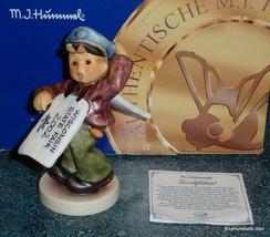BIG ANNOUNCEMENT Wisconsin State Fair Goebel Hummel Figurine #2153 With ... - $203.69