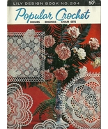 Popular Crochet Lily Design Book No. 204 - $9.98