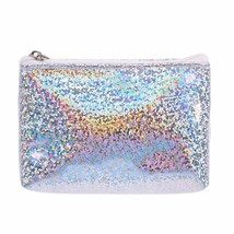 Women Glitter Coin Purse PU Leather Sequins Money Pouch Girl Fashion Min... - $3.75