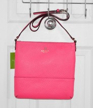Kate Spade Cora Southport Avenue Crossbody Bag Zinnia Pink WKRU1769 - $125.76