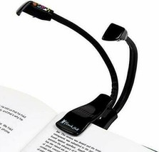 New FRENCH BULL Duo LED BOOK LIGHT Lighting For Reading Books Mags eRead... - $14.01