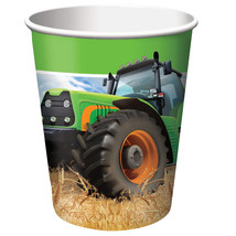 Tractor Time 9 oz Hot/Cold Cups/Case of 96 - $37.35