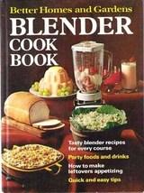 BH&G BLENDER COOK BOOK - 1971 HC - $9.99