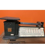 Vintage TRINER AIR MAIL SCALE 1970 4 pound Post Office Shipping - $24.25