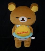 "18"" Big 2014 SAN-X Rilakkuma Brown Teddy Bear Stuffed Animal Plush Toy Doll - $36.47"