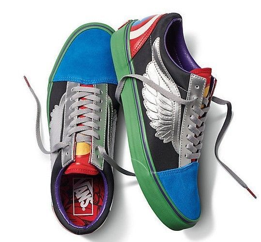 19a3e5c53ccb2c Vans x Marvel Avengers Old Skool Size 12.5 and 50 similar items