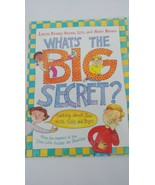 What's the Big Idea talking sex boys girls growing up Marc Laurie  Krasn... - $6.92