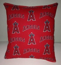 Angels Pillow Los Angeles Angels Pillow MLB Handmade in USA Pillow - $9.97