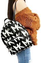 Michael Kors Graffiti Erin Medium Mk Logo Backpack MSRP: 398.00 - $197.99