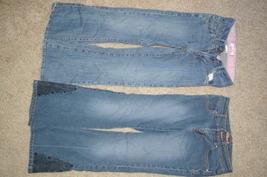 2 Pair Blue Jeans Levis 517 & Candies Girls Size 10 - $10.99