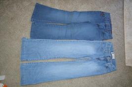 2 Pair Blue Jeans LEE & GAP Girls Size 10 (S) Slim - $10.99