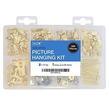 Assorted Picture Hanging Kit | 220 Piece Assortment with Wire, Picture H... - $12.83