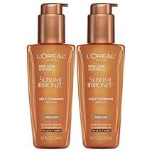 L'Oreal Paris Skin Care Sublime Bronze Self-Tanning Serum, 2 Count - $27.59