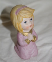 Homco Praying Girl Figurine 5211 Home Interior - $4.99